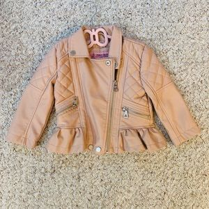 Faux Leather Jacket (24 months ) BNWT